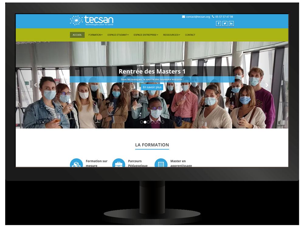 Accueil site Internet   Tecsan