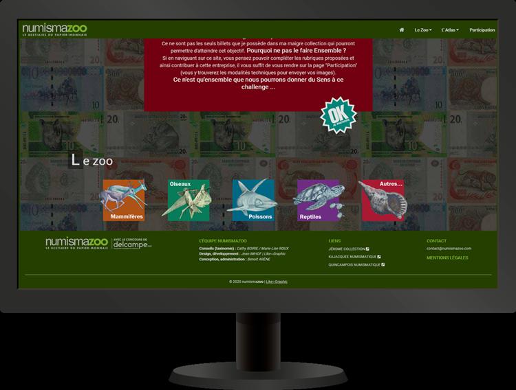 Accueil site Internet   Numismazoo